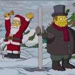 The Simpsons Christmas Couch Gag Complete with a Festivus Reference