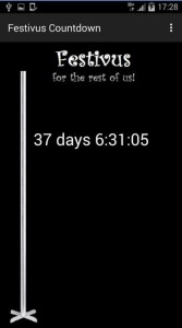 festivus countdown app