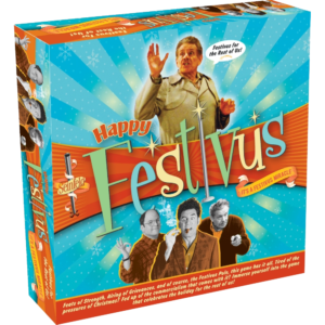 "Many Christmases ago, I went to buy a ""Happy Festivus"" board game for myself. I reached for the last one they had, but so did another man. As I rained blows upon him, I realized there had to be another way."