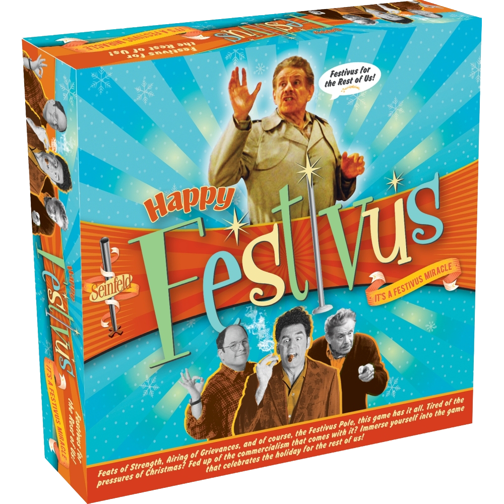 Review: Seinfeld Happy Festivus Board Game