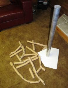 Cardboard carnage.