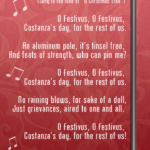 'O Festivus,' sing a song for the rest of us!